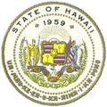HI State Seal